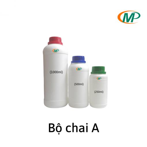 Chai nhựa theo bộ dung tích 250-500-1000ml